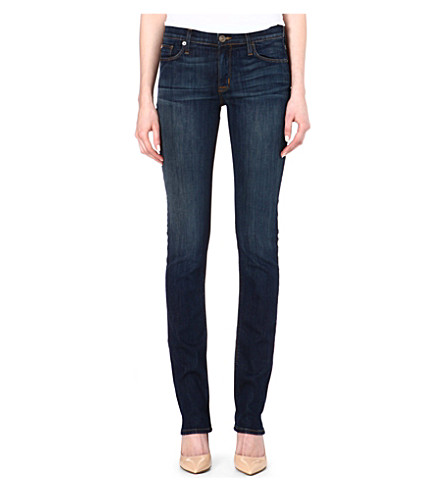 HUDSON JEANS Tilda straight-leg mid-rise jeans (Siouxsie