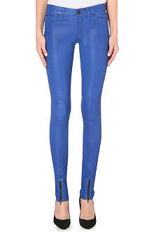 HUDSON JEANS Juliette skinny leather trousers