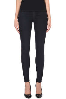 HUDSON JEANS Krista super-skinny cropped mid-rise jeans