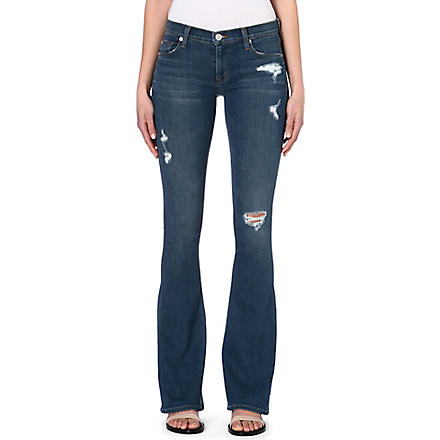 HUDSON JEANS Angel flared stretch-denim jeans (Jane