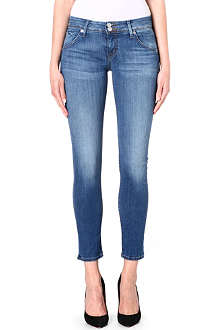 HUDSON JEANS Nicole Ankle super-skinny mid-rise jeans