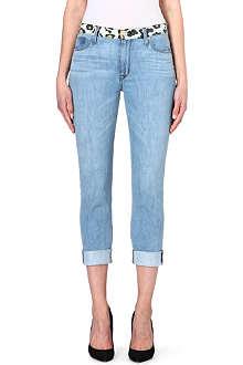 HUDSON JEANS Vice Versa slouch skinny jeans