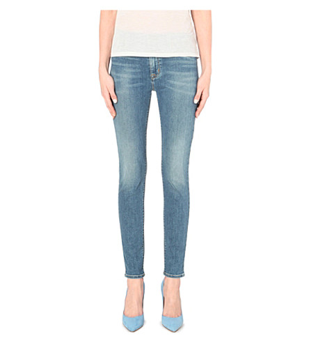 HUDSON JEANS Barbara super-skinny high-rise jeans (Vague 2