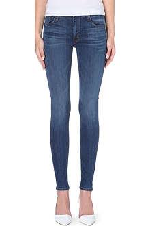 HUDSON JEANS Barbara super-skinny high-rise jeans