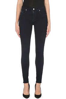 HUDSON JEANS Barbara skinny high-rise jeans