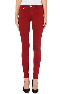 HUDSON JEANS Nico mid-rise super skinny jeans