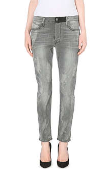 RTA Boyfriend skinny mid-rise jeans