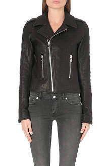 RTA Classic leather biker jacket