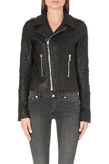 RTA Classic leather biker jacket