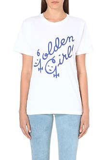 ASHLEY WILLIAMS Golden Girl cotton-jersey t-shirt