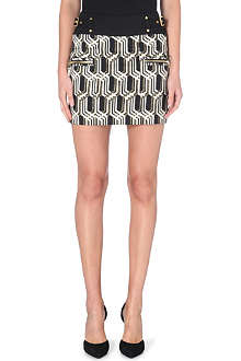 GENETIC DENIM Genetic x Liberty Ross stretch-jacquard skirt