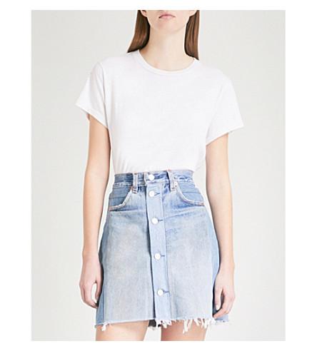 RE/DONE 1950s Boxy jersey T-shirt (White