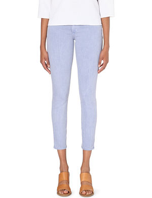 JOE'S JEANS Slim-fit mid-rise jeans
