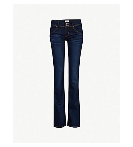 HUDSON JEANS Beth Baby bootcut mid-rise jeans (Oracle