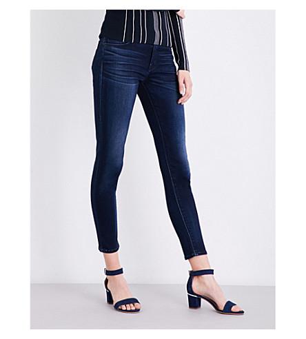 HUDSON JEANS Krista super-skinny mid-rise jeans (Recruit