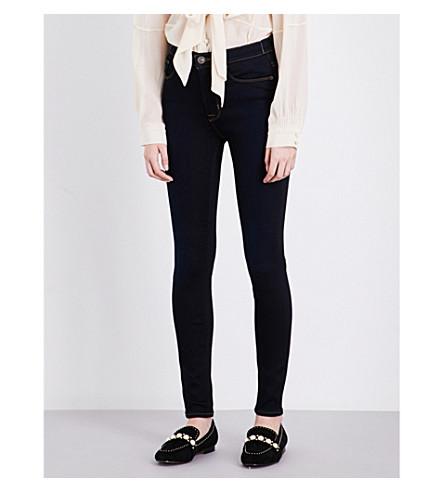 HUDSON JEANS Barbara skinny high-rise jeans (Delilah+2
