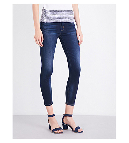 HUDSON JEANS Barbara skinny high-rise jeans (Recruit+2