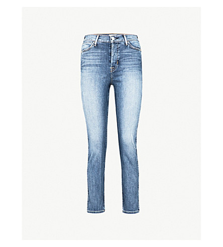 HUDSON JEANS Holly skinny cropped high-rise jeans (Baby+face