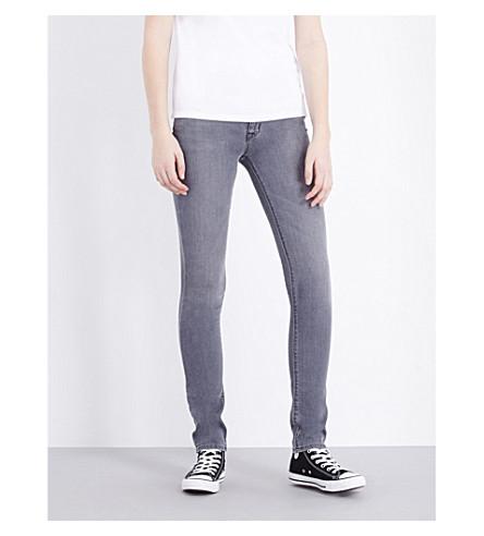 HUDSON JEANS Shine skinny mid-rise jeans (Rakke