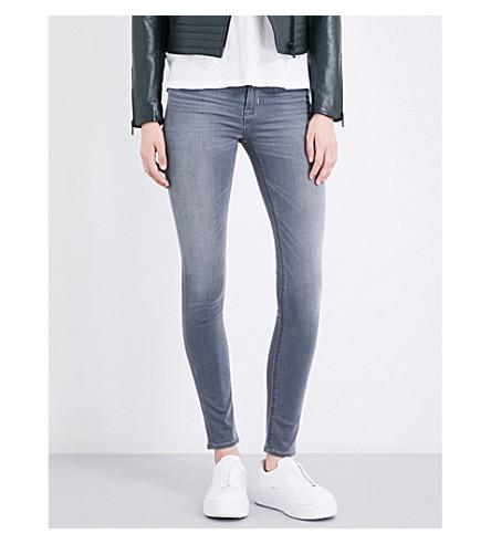 HUDSON JEANS Nico skinny high-rise jeans (Spark+plug