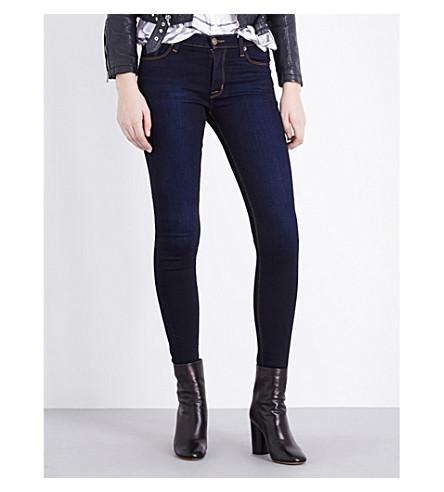 HUDSON JEANS Nico super-skinny mid-rise jeans (Delilah