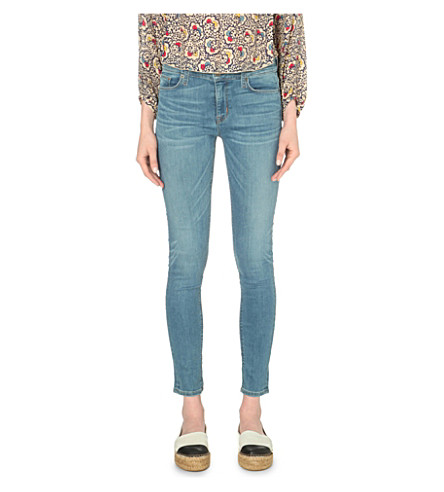 HUDSON JEANS Nico super-skinny high-rise jeans (Glider