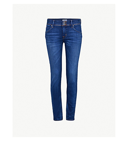 HUDSON JEANS Collin skinny mid-rise jeans (Revelation