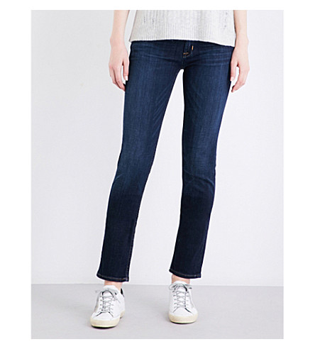 HUDSON JEANS Collin skinny mid-rise jeans (Elemental