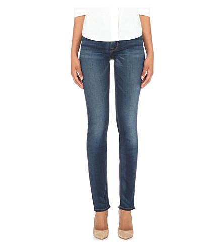 HUDSON JEANS Tilda straight mid-rise jeans (Revelation