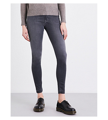 HUDSON JEANS Nico super-skinny mid-rise jeans (Dismantle+2