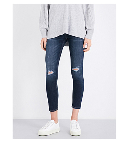 RAG & BONE Collette skinny cropped mid-rise jeans (Collette+405