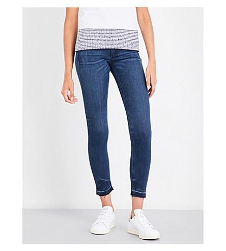 RAG & BONE Skinny released-hem mid-rise jeans (Alembic