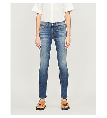 RAG & BONE Skinny cropped mid-rise jeans (Rae