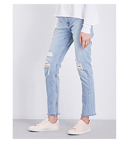 RAG & BONE Marilyn cropped high-rise jeans (Union+pool