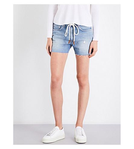 RAG & BONE Rocklyn denim micro shorts (Achillies+472