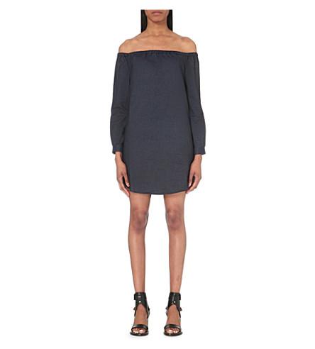 RAG & BONE Off-the-shoulder denim dress (Indigo