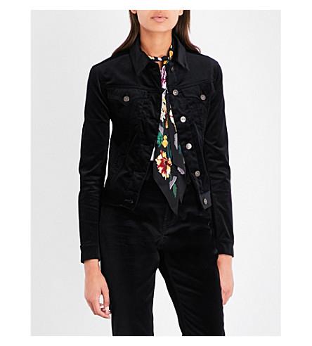 ROCKINS Classic velvet jacket (Black