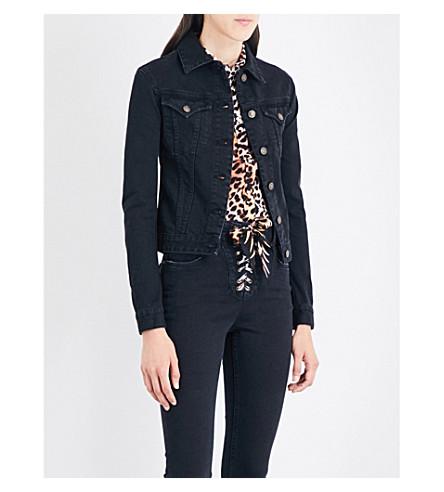 ROCKINS Classic denim jacket (Washed+black
