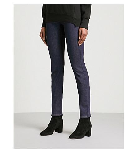 ARMANI JEANS Slim-fit skinny mid-rise jeans (Denim+blu+0941