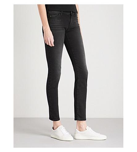 ARMANI JEANS J23 Push-up slim-fit mid-rise jeans (Denim+nero+0005