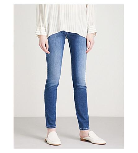 ARMANI JEANS J28 skinny mid-rise jeans (Denim+blu+0941