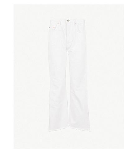 GRLFRND Dahl straight cropped jeans (Element