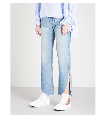 GRLFRND Maran slim-fit high-rise jeans (Archaic