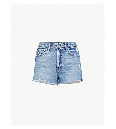 GRLFRND Cindy high-rise denim shorts (Nobody does it better