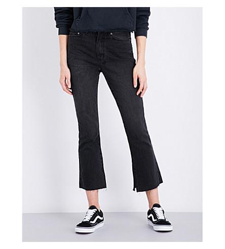 KSUBI Skinny Kick'n slim-fit mid-rise jeans (Black