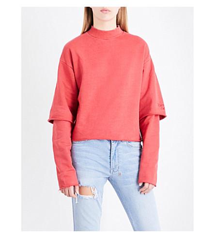 KSUBI 第二次棉球衣运动衫 (红色