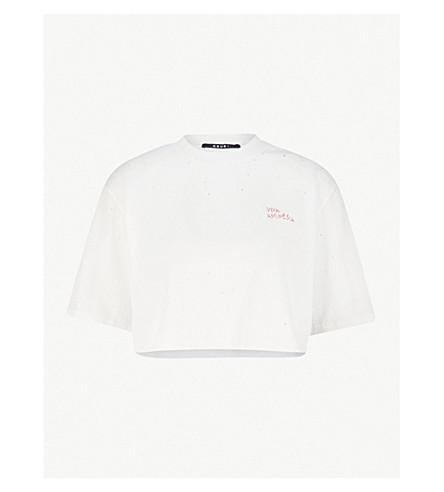 KSUBI威棉球衣 t恤衫 (穿 + 白色