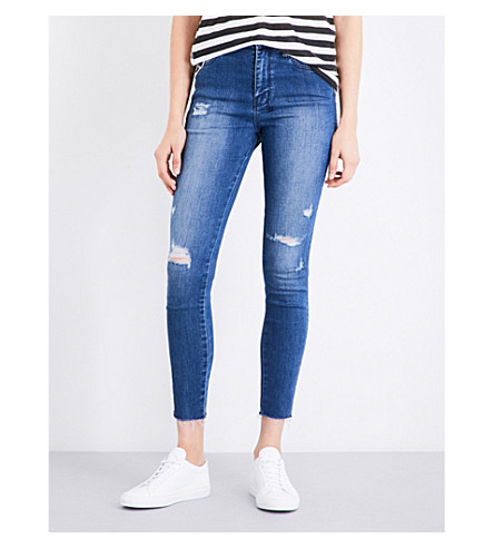 KSUBI High and Wasted skinny high-rise jeans (Bestie blue