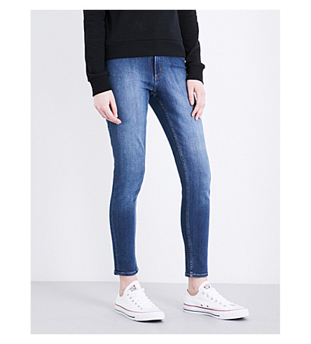 CHEAP MONDAY High Skin skinny high-rise jeans (Blue