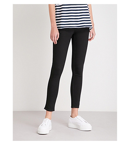 CHEAP MONDAY High Skin high-rise skinny jeans (Pure+black